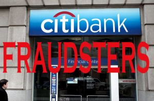 Citibank - fraudsters