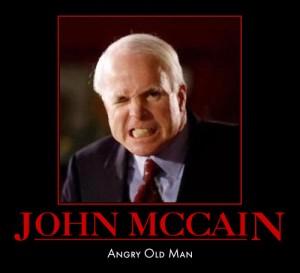 John McCain - Angry Old Man